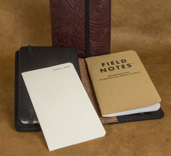 Field Notes Combined with a Moleskine Planner and Address Book