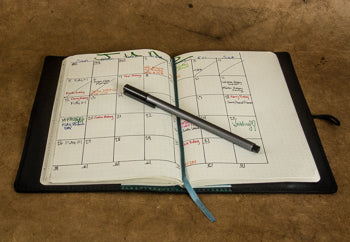 Creative use of the Leuchtturm dod grid notebook