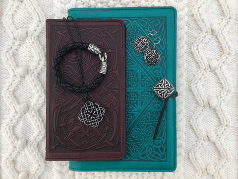 Celtic Jewelry and Leather Cover Collection by Oberon Design