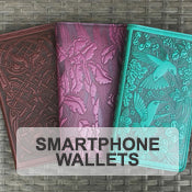 Large Leather Smartphone Wallets