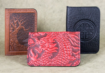 Leather Card Holders - Mini Wallet