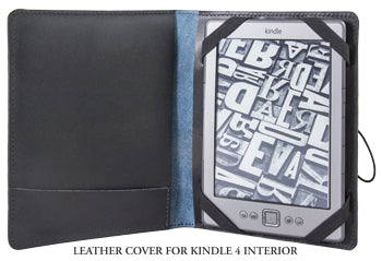Leather Kindle 4 Cover Interior