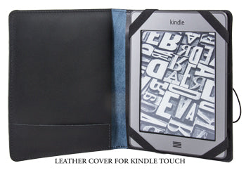 Leather Cover for Kindle Touch Interior