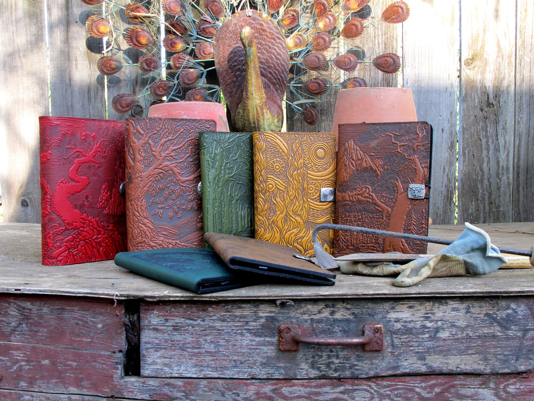 Oberon Design Leather Device Covers