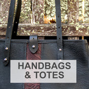 Oberon Design Leather Handmade Handbags and Totes