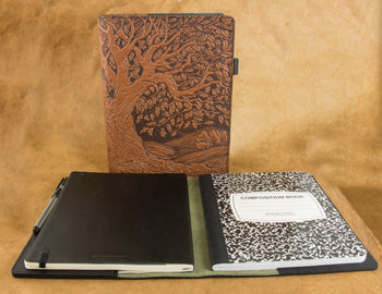 Leather Composition Notebook Cover