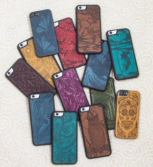 outlet store 89c57 c6ee4 Leather iPhone Cases | Oberon Design