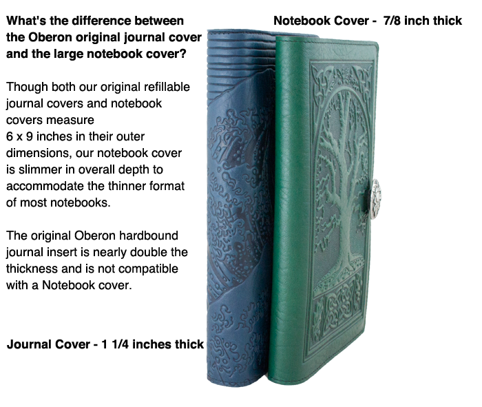 Leather Journal And Note Book Covers Compared