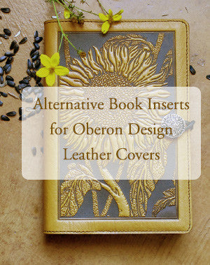 Alternative Book Inserts for Oberon Design Leather Covers