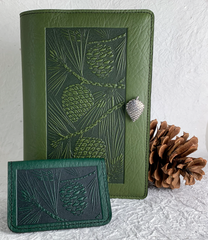 Limited Edition Pine Cone Leather Covers