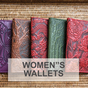 Oberon Design Leather Women's Wallets