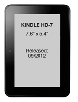 2012 Kindle Fire HD 7