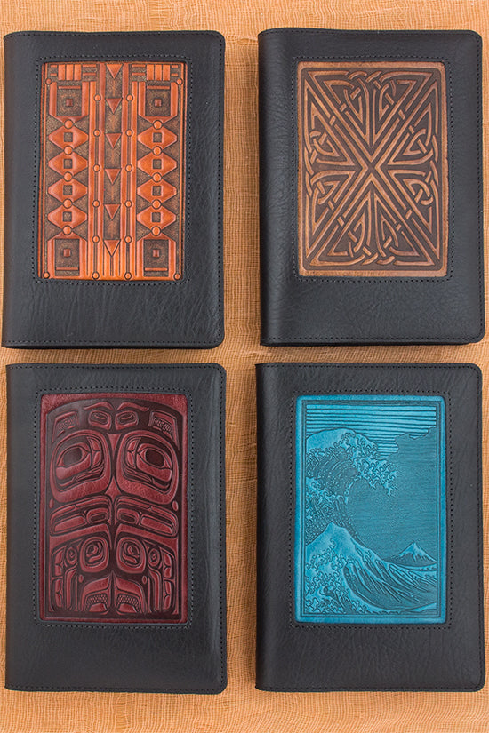 Leather Icon Journal Covers