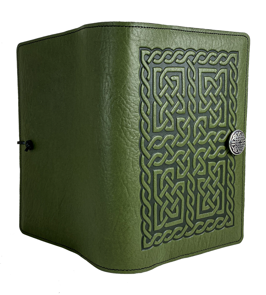 Archive Special, Celtic Chain, Large Journal with Pen Loop in Fern
