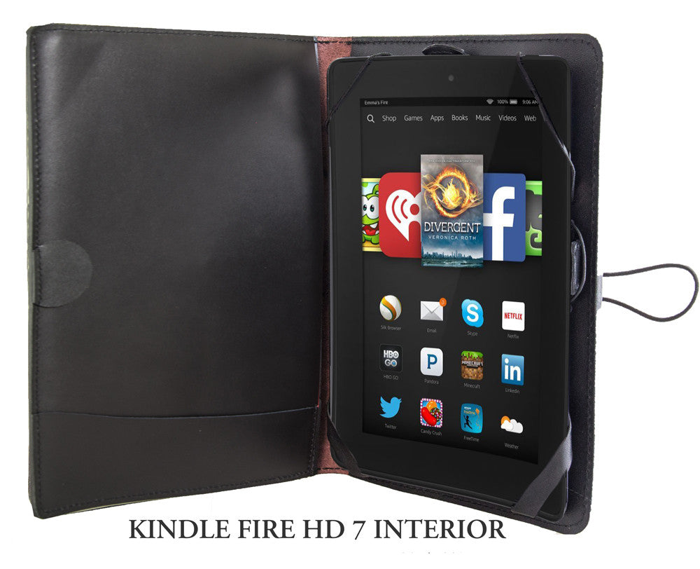 Leather Covers And Cases For Amazon Fire Tablets Roof Of