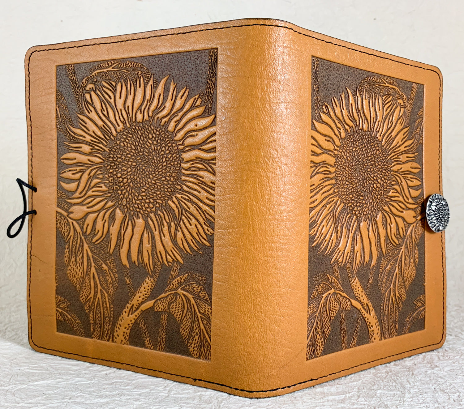 SPECIAL RETRO | Kindle Paperwhite or Voyage Cover | Sunflower in Marigold