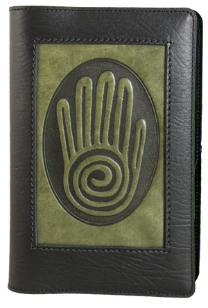 Leather Icon Journal Cover | Spiral Hand
