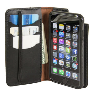 Leather Wallet Case for iPhone | Folio Style | Interior