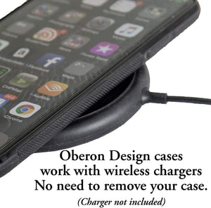 Leather iPhone Case, Hokusai Wave, 2 Colors
