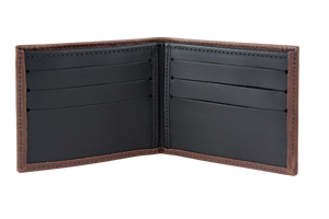 Leather Bi-fold Wallet | Interior