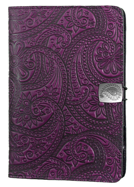 Leather Covers And Cases For Amazon Fire Tablets Paisley