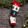 Bernat Christmas Tree Hand Knit Stocking
