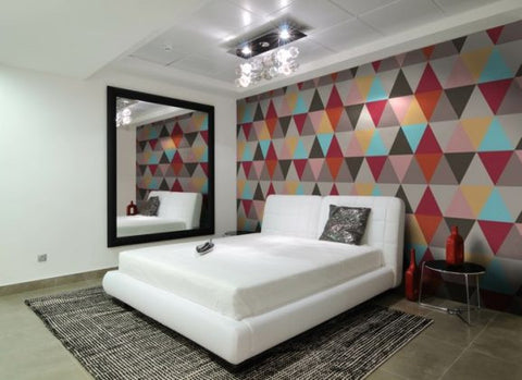 geometric-wallpaper-accent-wall