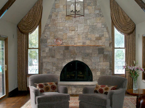 tall-fireplace-living-room