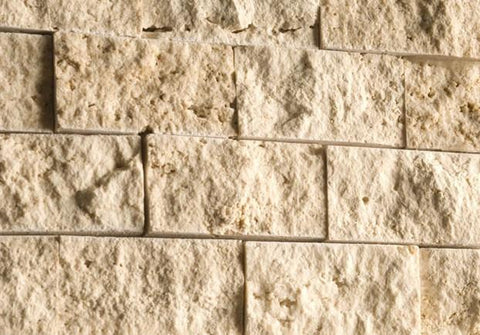 travertine split face tiles