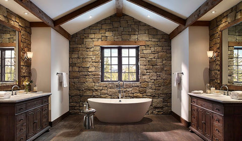 stone-wall-bathroom