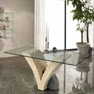 glass-stone-table