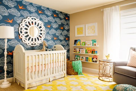nursery-accent-wall-wallpaper