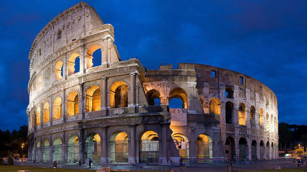 Coloseum is made of natural stone