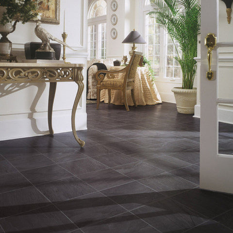 A Quick Review Of Slate Floor Tile Properties And Usage Options
