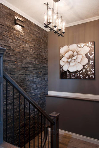 hallway-stone-accent-wall