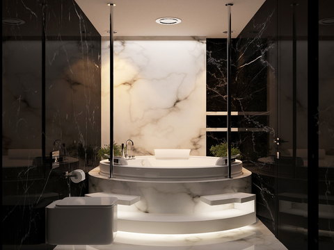 Natural Stone & The Marble Bathroom