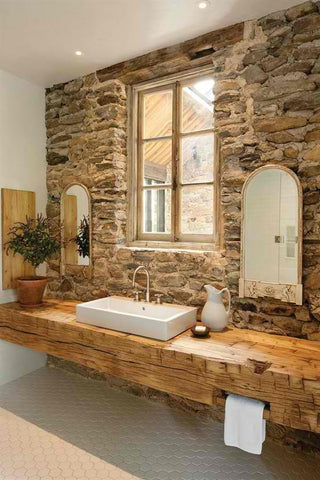Elegant Natural Stone Bathroom Solutions