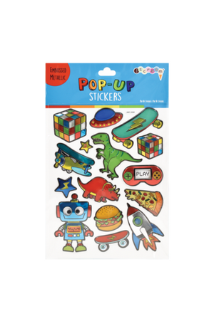 Toys & More Pop Up Stickers