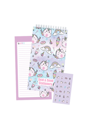 Caticorns Seal & Send Stationery