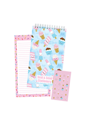 Ice Cream Treats Seal & Send Stationery