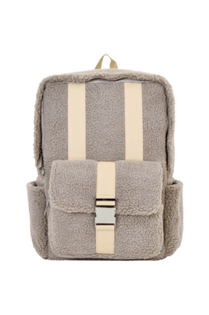 Tan Sherpa Backpack