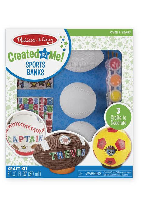 Created By Me! Sports Bank Craft Kit