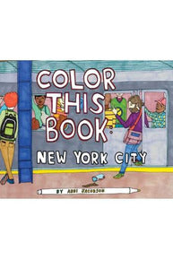 Color This Book New York City