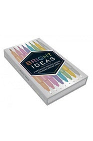 Bright Ideas Metallic Double-Ended Colored Brush Pens - Pink Possum