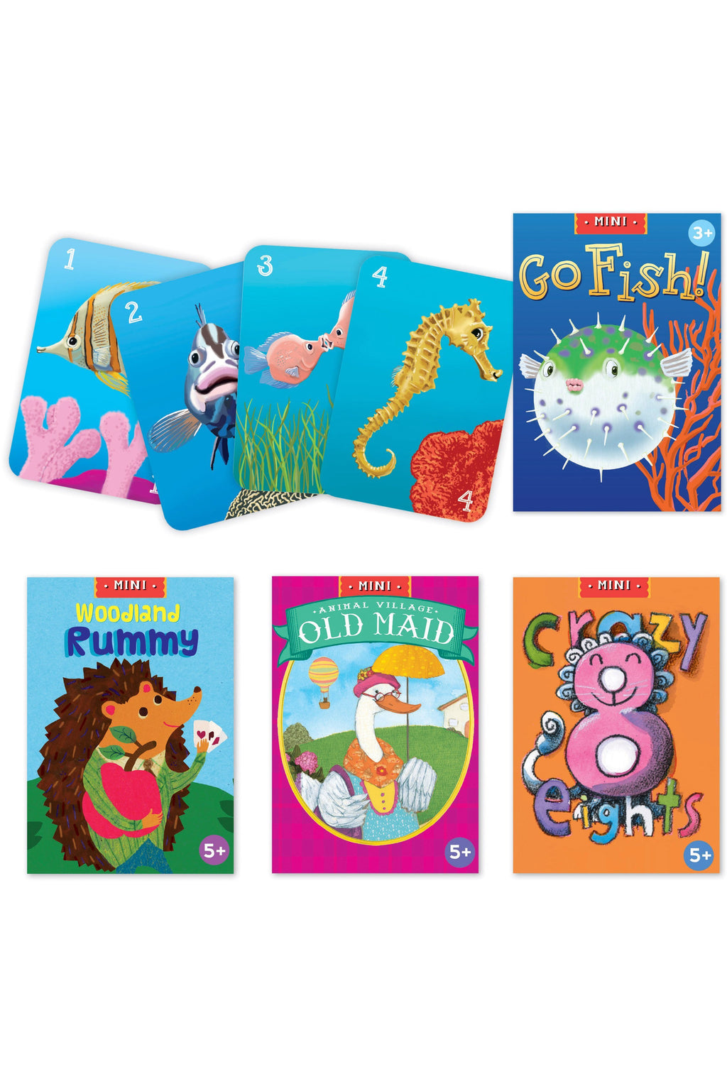 Go Fish Mini Card Game