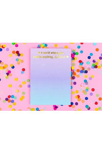 Be Kind Notepad with Magnet