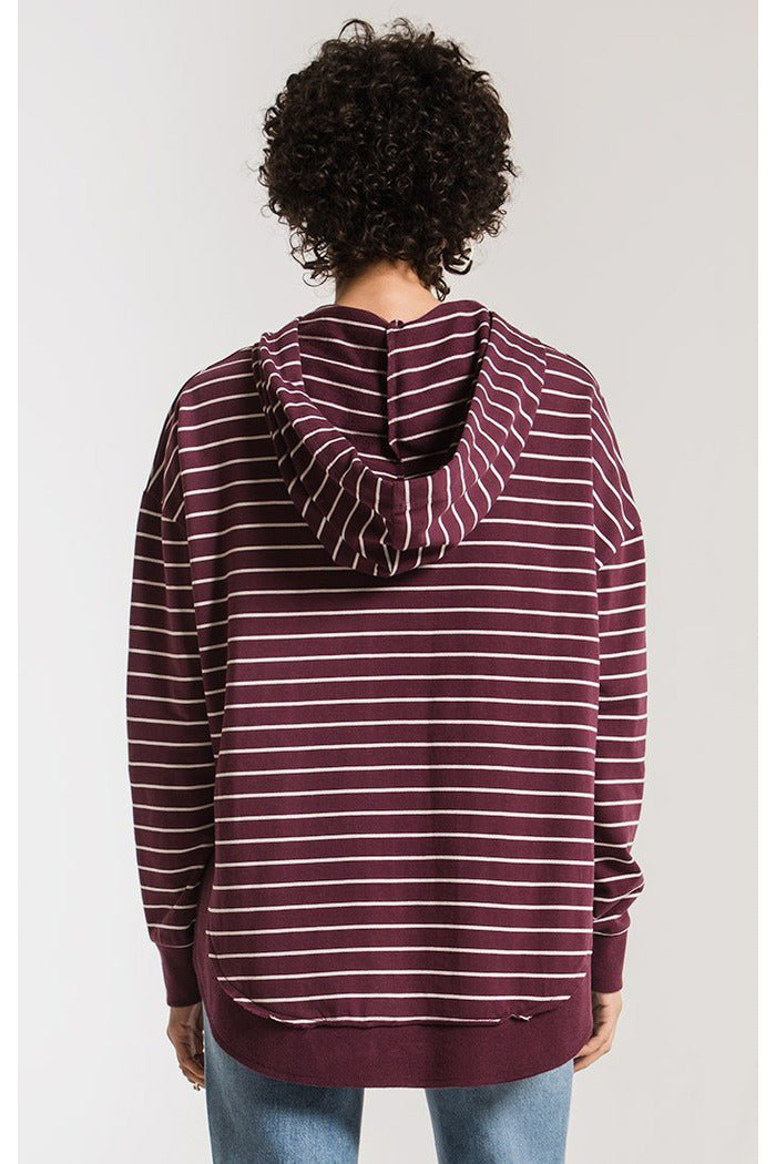 The Striped Dakota Pullover Hoodie