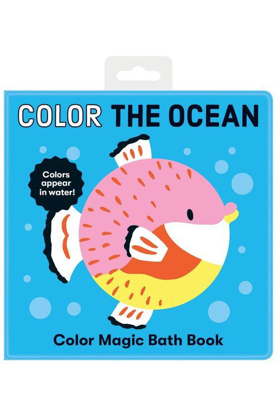 Color the Ocean Color Magic Bath Book