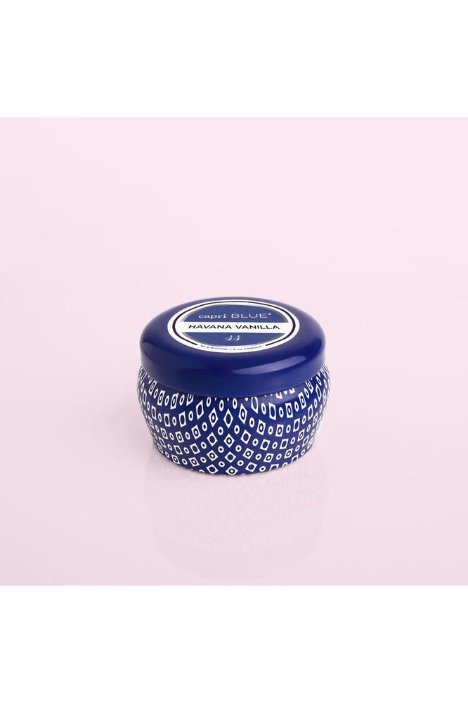 Havana Vanilla Blue Mini Tin, 3oz