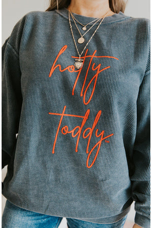 Hotty Toddy Corded Sweatshirt